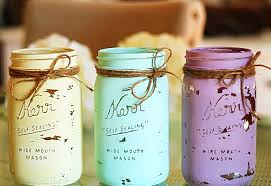 jar crafts how to chalk paint your jars