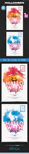 428 best halloween flyer template images on pinterest flyer