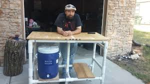 How To Make Tiki Hut Pvc Tiki Bar 6 Steps With Pictures