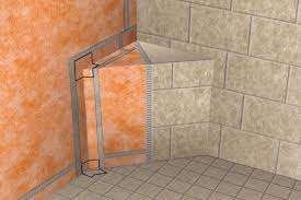 How To Tile A Bathroom Wall by Waterproofing Shower System Schluter Com