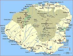 map kona usa printable map of usa regions map of hawaii cities and islands