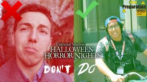 halloween horror nights 2016 map dos and don u0027ts of halloween horror nights youtube