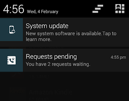 new update for android avoiding android lollipop update notification intouchapp