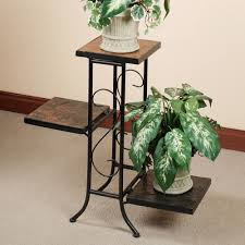 plant stand black plant stands pedestals indoor tiered stand