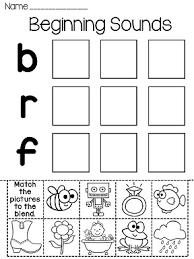 beginning sounds kindergarten worksheets worksheets