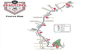 Marta Atlanta Map Runners Spectators Prepare For The Peachtree Road Race Wsb Tv