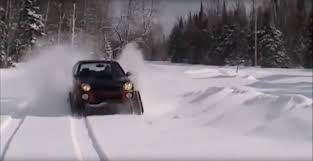 subaru drift snow tracked subaru impreza impresses on powder superunleaded com