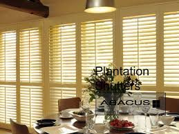 abacus blinds and curtains plantation shutters youtube