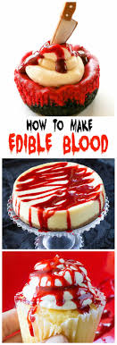 edible photo how to make edible blood the girl who ate everything