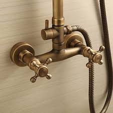 brass kitchen faucet aged brass kitchen faucet shock antique with sprayer victoria homes