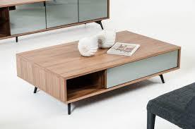 Modern Walnut Coffee Table Danish Modern Walnut Coffee Tablereclaimed Metal Mid Century Round