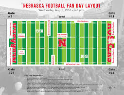 Rutgers Football Parking Map Information For Fan Day On August 3rd Huskers Com Nebraska