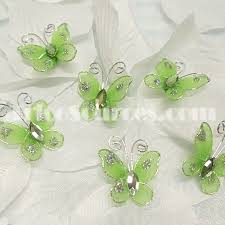 butterfly party favors trico sources inc organza butterfly party favors nfp6100 mt 6x2