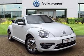 white volkswagen convertible used volkswagen beetle white for sale motors co uk