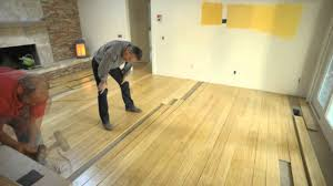 Prefinished Laminate Flooring Pre Finished Bamboo Floor Installation Youtube