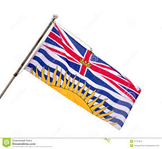 Canadian Provincial Flags British Columbia Provincial Flag Stock Photo Image 31137022