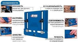 kreg cabinet hardware jig кондуктор для установки ручек cabinet hardware jig kreg khi pull kreg