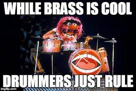 Drummer Meme - animal on drums meme generator imgflip