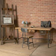 rustic and industrial home office treatment and appearances