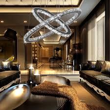 dining room light idea crystal chandelier topmax design 60cm