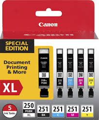 best deals on pixma my922 black friday deals canon 250 xl cli 251 5 pack special edition pack 5 pack ink