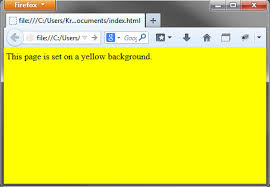 Html Background Html Set Page Background Color