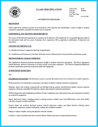 Auto Mechanic Resume Examples by Resume For Ac Technician Free Resume Example And Writing Download
