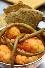 recettes de cuisine indienne choux fleur à l indienne methi gobi