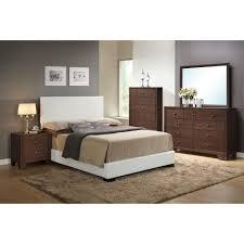 Eastern King Bed Acme Furniture Ireland White Eastern King Upholstered Bed 14387ek