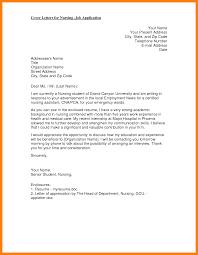 nursing cover letter graduate nursing cover letter paso evolist co