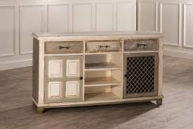 wine rack console table hillsdale larose console table with 2 door storage and wine rack