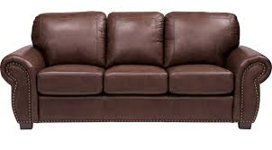 Comfortable Leather Couch Sofas U0026 Couches For Living Rooms