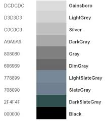 shades of gray names shades of gray color names classy it s wine not dark red here are