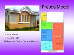 Row House Model - carmona cavite seafarers house u0026 lot thru pagibig seafarers