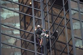 nypd nabs man scaling trump tower in new york cbs chicago