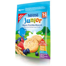 si e nestl nestlé junior fruit biscuits 12 months snacks baby food baby