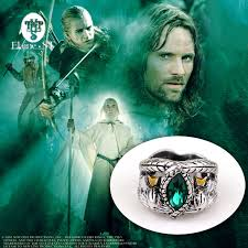 aliexpress com buy the lord of antique silver ring crystal