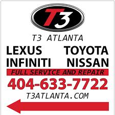 lexus atlanta service t3 atlanta auto repair 375 aldridge ave scottdale ga phone