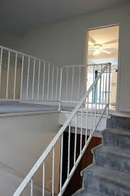 How To Build A Banister For Stairs How To Paint Metal Handrails