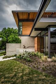 exterior interesting mid century modern homes with glass wall and