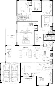 Clarence House Floor Plan Single Storey Home Designs Single Level Display Homes Domain