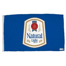 natural light natural light blue vintage flag