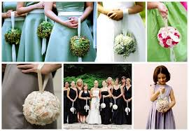 a fun alternative to bridesmaids u0027 posies