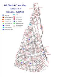 New Orleans Murder Map by Nopd Sixth District Crime Map U2013 Uptown Messenger