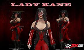 Kane Halloween Costume Wwe2k16 Genderbender Divas Updated Verison 2 Lady Kane