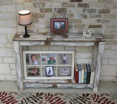 farmhouse sofa table ideas