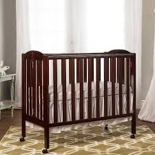 Folding Mini Crib by Portable Crib Mattress Walmart Crib Bedding Baby Crib Mattress
