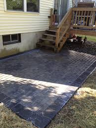 Drainage Patio Residential Construction Kd Construction