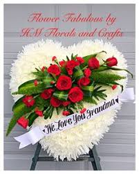 Funeral Flower Designs - baby u0027s breath and rose open heart sympathy flowers pinterest