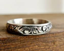 unique wedding rings for unique wedding ring etsy
